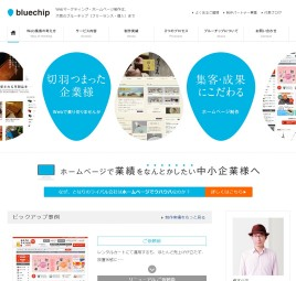 Webマーケティング、ホームページ制作 Web制作のブルーチップ(大阪 フリーランス 個人)